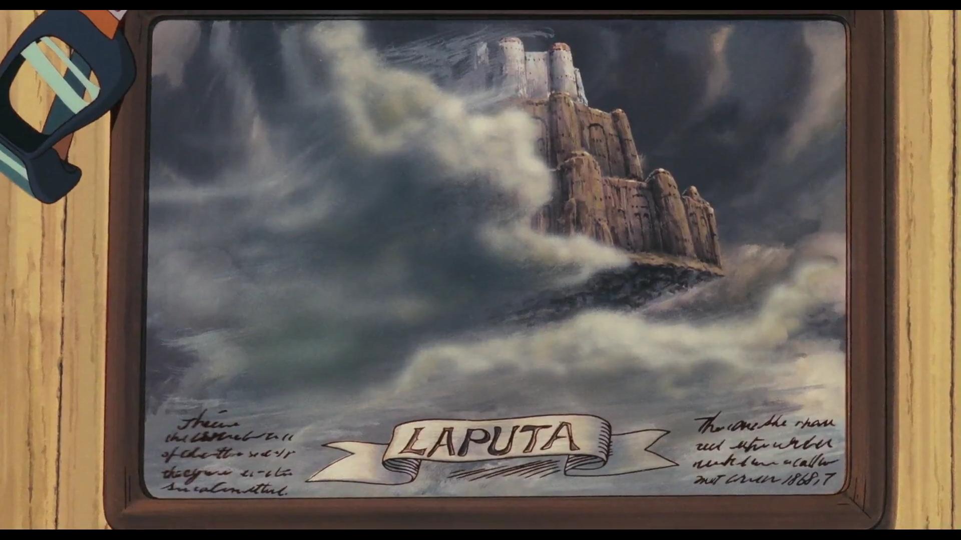 Le Château dans le Ciel (II) : verticalité